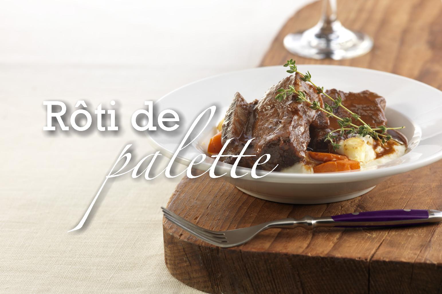 R ti de palette de boeuf infaillible au four ou la mijoteuse recette de base - Cuisiner un roti de boeuf au four ...