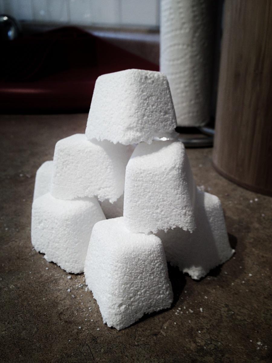 Pastilles de d tergent pour le lave vaisselle recette de base - Bicarbonate de soude lave vaisselle ...